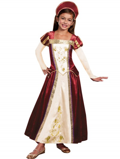 Girls Royal Maiden Costume