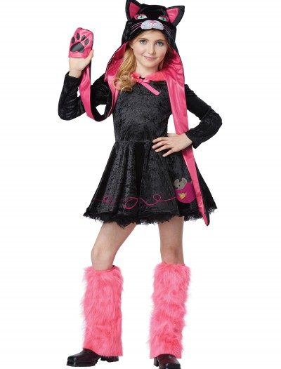 Girls Sassy Cat Costume
