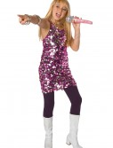 Girls Sequin Diva Dress Costume