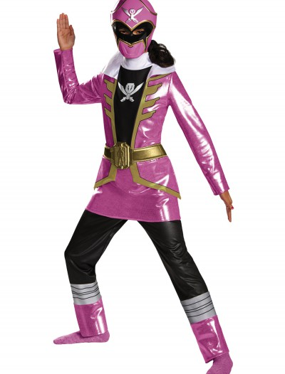 Girls Super Megaforce Deluxe Pink Ranger Costume