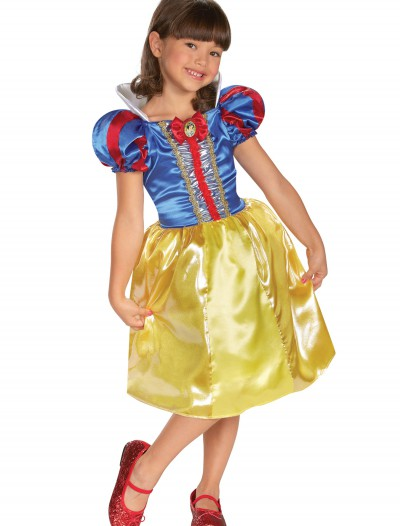 Girls Snow White Sparkle Classic Costume