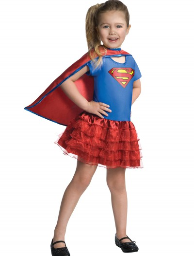 Girls Supergirl Tutu Set