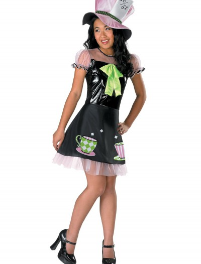 Girls Tea Time Mad Hatter Costume