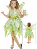 Girls Tinker Fairy Costume