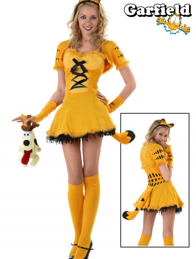 Girly Garfield Costume