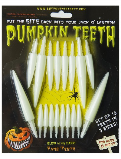 Glow-in-the-Dark Fang Teeth