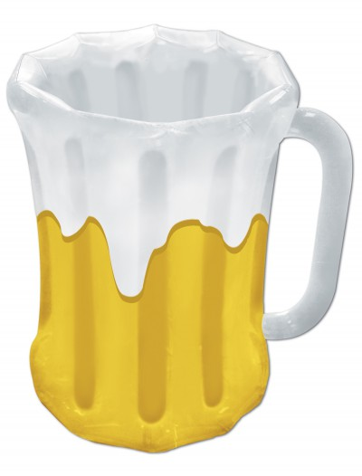 Green Inflatable Beer Mug Cooler