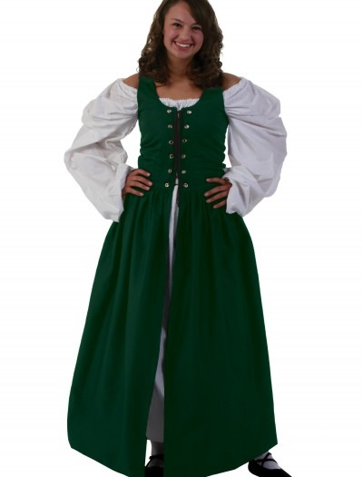 Green Irish Renaissance Dress