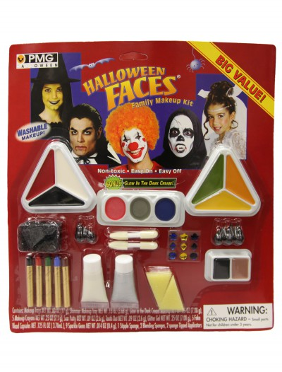 Halloween Faces Makeup Kit