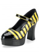 Honey Bee High Heels