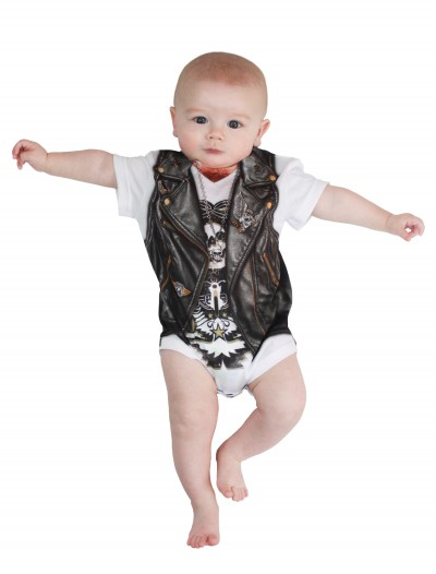 Infant Biker Baby T-Shirt Costume