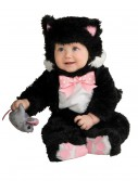 Infant Black Kitten Costume