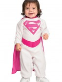 Infant Pink Supergirl Costume