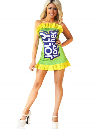 Jolly Rancher Green Costume Dress