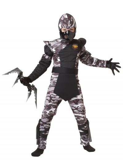 Kids Arctic Force Ninja Costume