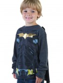 Kids Black Batman Long Sleeve Costume Shirt