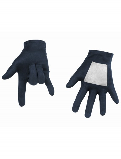Kids Black Spiderman Gloves