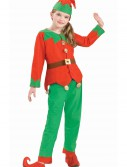 Kids Christmas Elf Costume