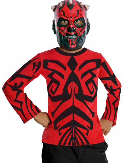 Kids Darth Maul Top and Mask