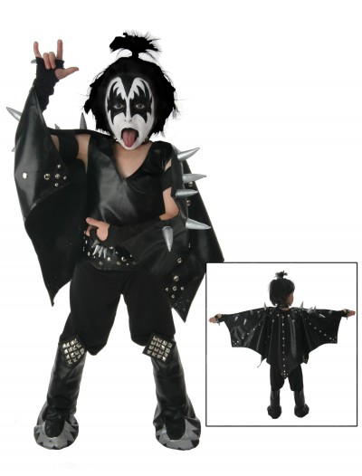 Kids Demon KISS Costume