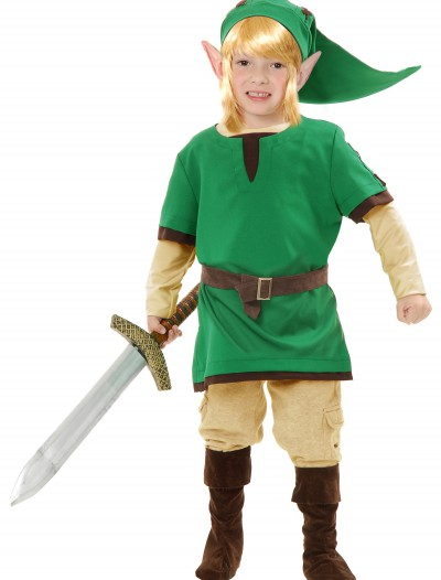 Kids Elf Warrior Costume