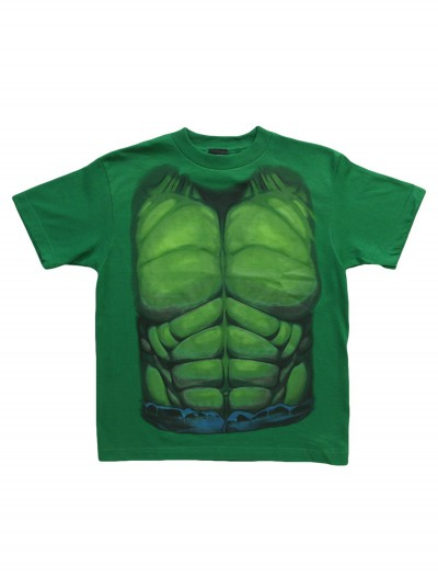 Kids Hulk Smash Costume TShirt