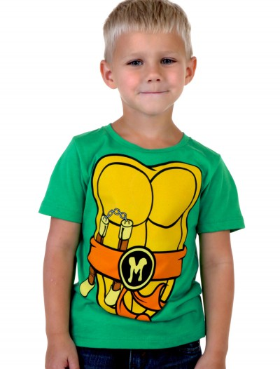 Toddler I Am Mike TMNT Costume T-Shirt