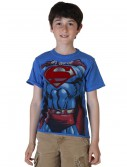Kids I Am Superman Costume T-Shirt