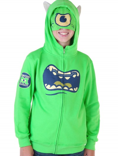 Kids Monsters University Mike Wazowski Costume Hoodie