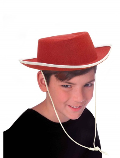 Kids Red Cowboy Hat