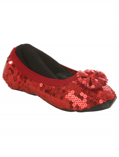 Kids Red Slippers