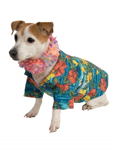 Luau Shirt Pet Costume