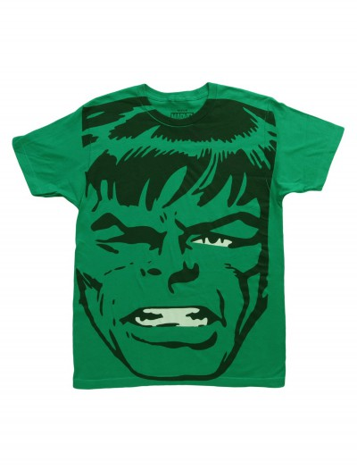 Mens Big Head Incredible Hulk TShirt