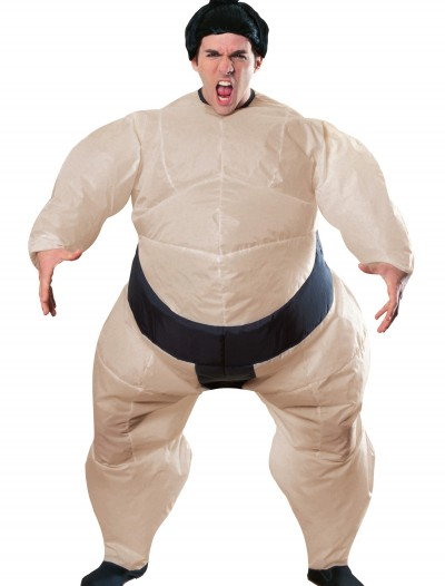 Mens Inflatable Sumo Costume