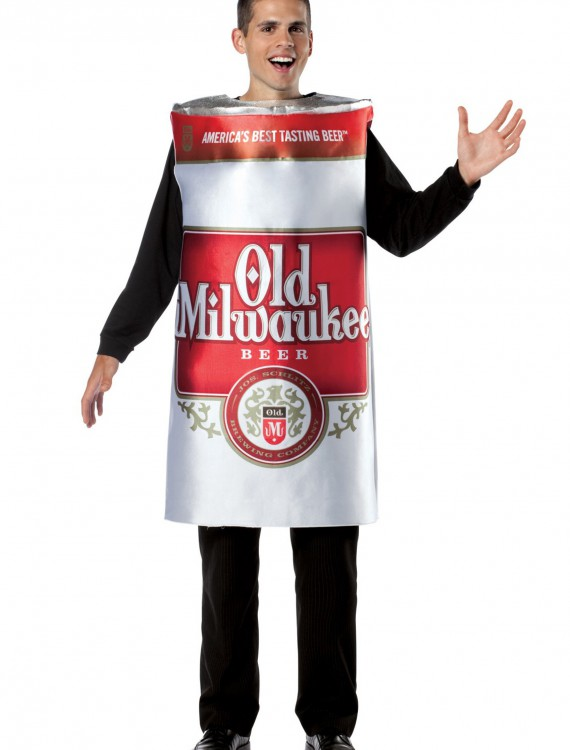 Mens Old Milwaukee Beer Costume