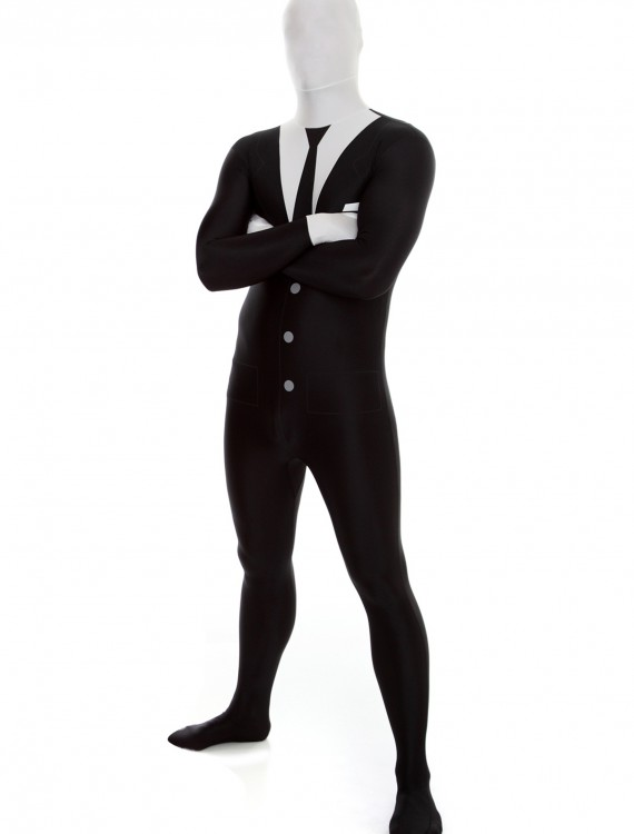 Mens Slenderman Morphsuit