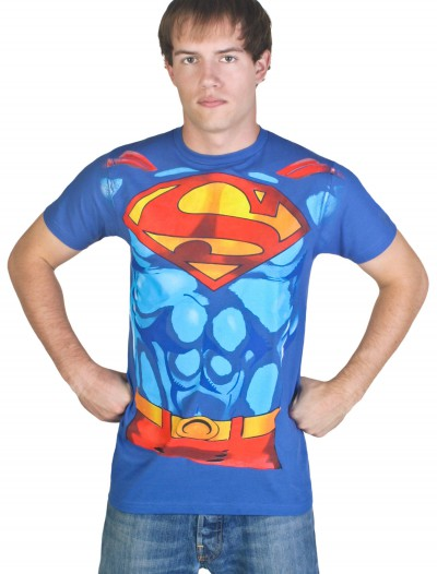 Men's Superman Costume T-Shirt