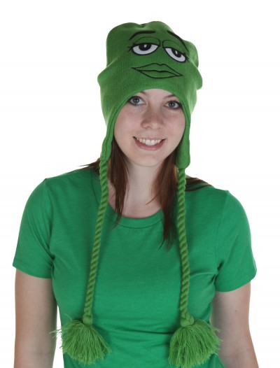 M&M's Big Face Green Laplander Hat