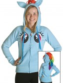 My Little Pony Rainbow Face Hoodie