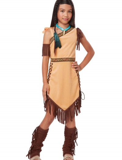 Native American Princess Girl Costume