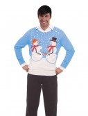 Naughty Snow Couple Christmas Sweater
