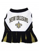 New Orleans Saints Dog Cheerleader Outfit