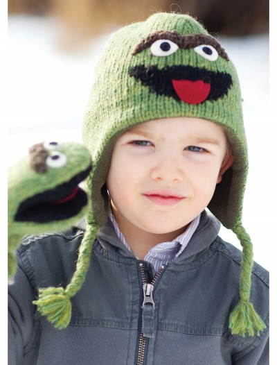 Toddler Oscar the Grouch Hat