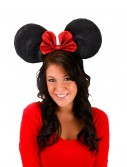 Oversized Minnie Glitter Ears