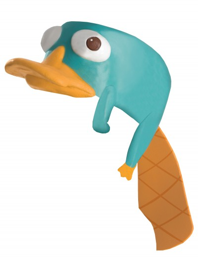 Perry the Platypus Headpiece