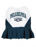 Philadelphia Eagles Dog Cheerleader Outfit