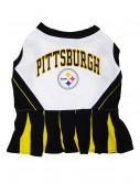 Pittsburgh Steelers Dog Cheerleader Outfit