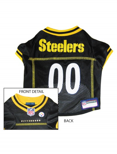 Pittsburgh Steelers Dog Mesh Jersey