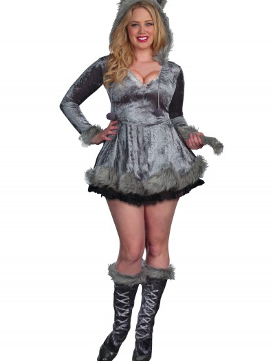 Plus Size Bad Sexy Wolf Costume
