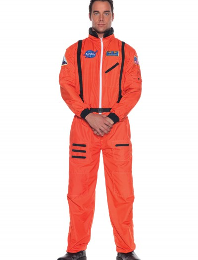 Plus Orange Astronaut Costume